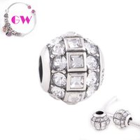 light disco - Disco Ball crystals charms disco lights Occasions sterling silver charms fit European Bracelets No95 X246