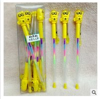 Wholesale colorful minions gel pens with pendants cartoon Despicable Me Gel pen Office pens Minions cartoons pen kawaii office school supplies m00399