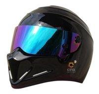 fiber reinforced - Motorcycle full face glass fiber reinforced plastic helmet ATV Stig SIMPSON Star Wars pig