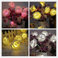 Wholesale S ROSE LED FAIRY STRING LIGHTS WEDDING GARDEN PARTY CHRISTMAS DECORATION SKDSE8