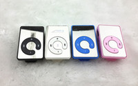 Wholesale quot Mini Colors Mirror Clip USB Digital Mp3 Music Player Support GB SD TF Card Mp3 gb Music Player PLAYER Under
