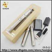 Cheap Evod M3 kit Evod 1100 mAh battery with Cloutank M3 Atomizer Cloutank vaporizer Gift Kit E Cigaret cloupor m4 Vaporizer Pen dry herb wax Mod