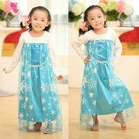 Cheap girls elsa dress Best baby frozen dresses