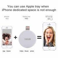 Wholesale U Disk Portable GB GB USB Disk Dual Storage in Flash Drive for IOS Iphone S PLUS iPad