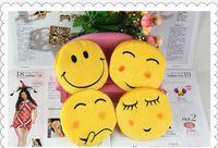 La moneda caliente de la expresión de QQ pone en monedero los nuevos monederos de la moneda de Emoji Mini totalizadores lindos de la cremallera de la manera de las señoras de la carpeta de la historieta el envío libre