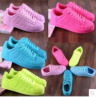 Wholesale Drop Shipping colors High quality new stan shoes fashion smith sneakers casual leather men women sport running shoes pinks colors
