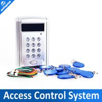 access hardware - LCD Display screen Networking Entry Door Access Control System Support online hardware controlling