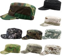 military caps hats - New Arrivals Military Army Styles Camo Camouflage Hat Hunting Baseball Cadet Casual Caps PX9