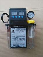 Wholesale 1L Auto Electric Lubrication Pump with pressure gauge dual optional Digital Electronic Timer oil pump