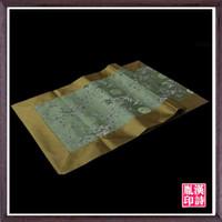 al por mayor paño de mesa del ejército-Nuevo ejército de la hoja de ciruela verde cama de bambú moderna tela de mesa Bandera de mesa bandera china se puede personalizar promocional simplicidad retro