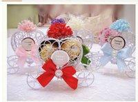Wholesale European Style Princess wedding decorations Dream pumpkin car candy box Carriage candy boxed wedding fedex