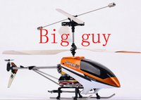 Cheap Rc Big guy Helicopter Remote Control Helicopter Radio Control Metal RC Helicopter with light Free shipping