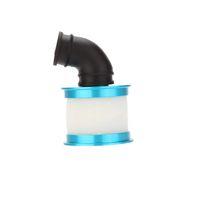 Nouveau 04014 pièces Mise à niveau Bleu Alum plafonné Air couvercle du filtre pour 94102/94106/94108 HSP RC 1/10 Nitro 4WD voiture pour $ piste 18Personne
