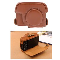 Wholesale PU Leather Camera Bag Case Cover Pouch with quot Screw Hole for Canon PowerShot G15 G16 D1552
