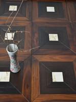 Wholesale Brushed white oill oil Polygon Decorative wood floor Burmese teBlack walnut birch wood flooring Oak Merbau Natural oil wood floor