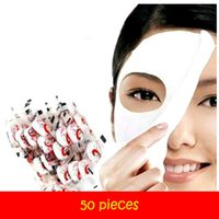 Wholesale 50 pieces fabric facial mask high quality facial mask sticker