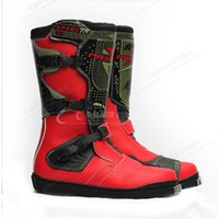 Wholesale PRO BIKER Speed motocross boots riding shoes High quality Cycling Shoes Brand authentic Motorcycle boots