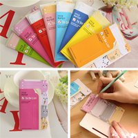 Wholesale Cute To Do List Sticky Note Sticker Bookmark Post It Mark Index Tab Notepad Memo Pad Random Color Type Students Office Supplies