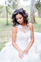africa flowers - South African Lace Wedding Dresses One Shoulder Court Train Bridal Dresses with Floral Appliques Africa Wedding Gowns Custom Made