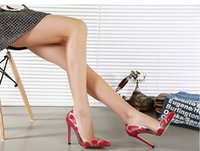 Cheap Cheap Sexy Red Rubber Upper High Heel Shoes Trendy Gold Pointed Toe High Heel Women Shoes Silver Pointed Toe Sexy High Heels