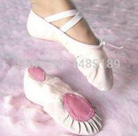 Wholesale Min order qty pairs pls Size23 cm children soft sole girls ballet shoes Women Ballet Dance Shoes for kids adult ladies