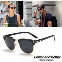 Wholesale 2015 NEW Fashion HOT sunglasses for men and women sunglass glasses good Frame big size eyeglasses