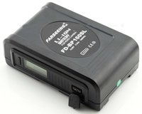 v mount battery - V mount Li ion battery V Lock FD BP Wh with LCD display for sony Camera