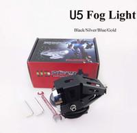 Moto CREE-LED Phare U5 Cool Transformateur 125KW 3000LM Imperméable de Moto/Boot LED-Phares Haute Puissance Spot de brouillard de Lumière stroboscopique ligh