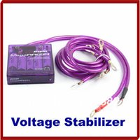 Wholesale New Arrivre Universal Car Vehicle Voltage Stabilizer Fuel Saver Regulators Earth Cable
