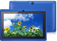 Wholesale 1GB ROM GB ROM quot upgrade to Allwinner A33 Quad Core Q88 tablet pc android Bluetooth GHz Wifi