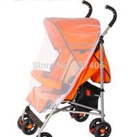 Wholesale Hottest Sale New Infants Baby Stroller Mosquito Net Buggy Pram Protector Pushchair Fly Midge Insect Bug Cover Sizes