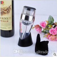 Wholesale 96pcs CCA2164 New Arrival Quick Bottle Aerating Decanter Wine Pourers Magic Red Wine Aerator Decanting Pourer Red Wine Aerator Filter