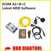 Precio de Herramientas de disco duro-EN PROMOCIÓN !! Para BMW ICOM A2 con el software 500gb hdd icom a2 + b + c herramienta de diagnóstico Icom A2 de DHL FREESHIPPING