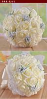 Wholesale Wedding supplies wedding bouquets PE simulation roses holding flowers Korean bride holding flowers Wedding bouquet HY00251