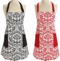 Wholesale 100 Cotton Machine Washable Unisex Kitchen Apron Cooking Apron Baking Apron with Pockets