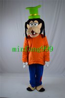 goofy costume - Goofy mascot Cartoon Doll costume party to celebrate Christmas party