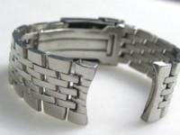 b r watch - 24mm New High quality SS Polishing Curved End Watch Bands Bracelets For B R E bracelet spiral bracelet cross