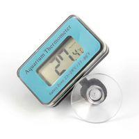 Temperatura Digital LCD medidor de termômetro para Aquarium Fish Tank Marinha w / Probe ° C 1000pcs Frete grátis