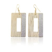 Wholesale Fashion New Christmas Earring For Women Big Earrings Anniversary Jewelry Yiwu Made Gold Plated Pandent Earring Free Drop Shipping