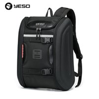 motorcycle hard bags - YESO outdoor men personalized travel computer backpacks shoulder bag motorcycle riding hard shell fashion women backpacks