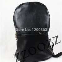 backpacks for work men - ZZOOZZ Promotion patch work lambskin and PU leather Black BackPack for women amp men lady Bag Shoulder satchel goatskin casual