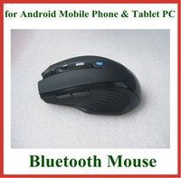Wholesale 1pc Optical Wireless Bluetooth Mouse DPI for Android Mobile Phone Tablet PC Laptop Notebook PC Colors High Quality
