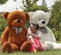 Wholesale Teddy Bear Plush Toys Large Bear cm m m Meters Kawaii Rilakkuma Big Bear Stuffed Dolls Toy For Christmas Gifts