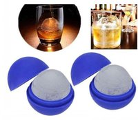 Wholesale Round Cocktails Ball Star Wars Silicone Ice Tray Ice Chocolate cake Cube Mold Falcon creative Death star ice cube mold for whiskey