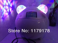 auto ball bearings - New Type Bear Model W Led disco party decorations stage light LED crystal ball with Sound Sensor Rechargeable Bluetooth