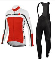 Wholesale Pro cycling jersey winter thermal fleece ropa ciclismo invierno winter cycling clothing long set ropa deportiva mtb bike