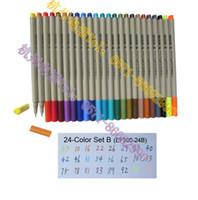 Wholesale color set B of finecolour sketch fineliner line drawing pen set water based ink mm fine liner pen set on a budget new