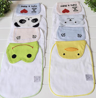 belle maison - 2016 new baby absorbent towels belle maison baby cartoon absorbent towels bibs burp cloths style can choose