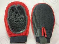Wholesale 50PCS MAA07 Cat Pet Dog Fur Grooming Groom Glove Mitt Brush Comb Massage Bath Tidy Tool