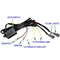 Wholesale New Daytime Running Light DRL Relay Harness Auto Car Control On Off Switch v